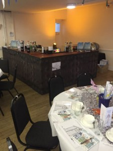 Booking our fully equipped bar facilities